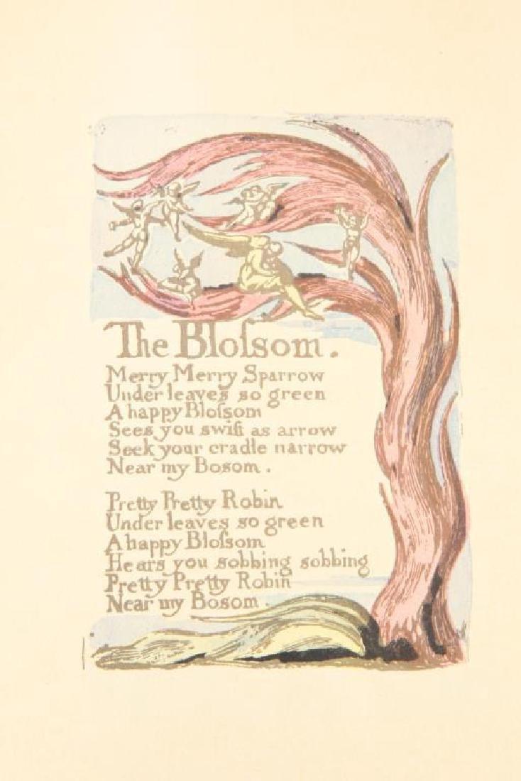 (2) SONGS OF INNOCENCE by WILLIAM BLAKE 1926 - 5