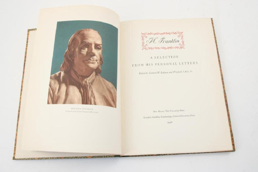 MR FRANKLIN: A SELECTION FROM HIS PERSONAL LETTERS