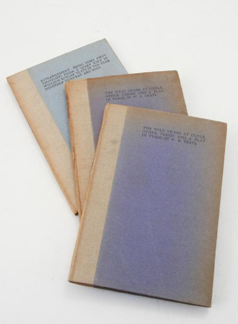 (3) FIRST EDITIONS BY WILLIAM BUTLER YEATS