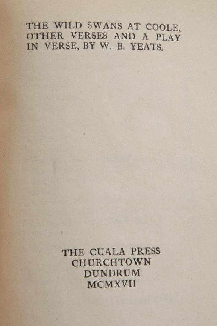 (3) FIRST EDITIONS BY WILLIAM BUTLER YEATS - 2
