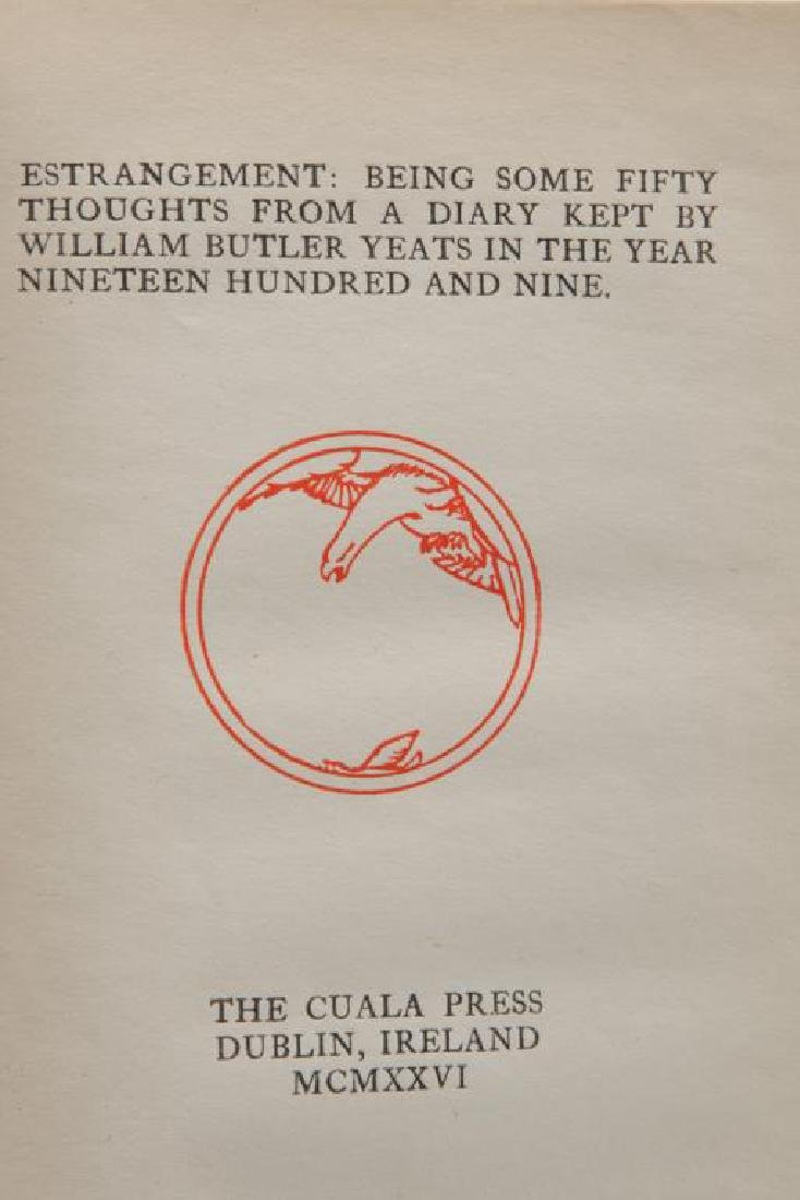 (3) FIRST EDITIONS BY WILLIAM BUTLER YEATS - 4