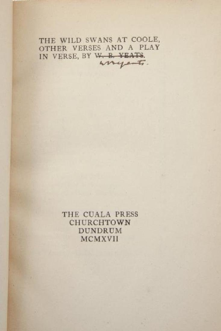 (3) FIRST EDITIONS BY WILLIAM BUTLER YEATS - 5
