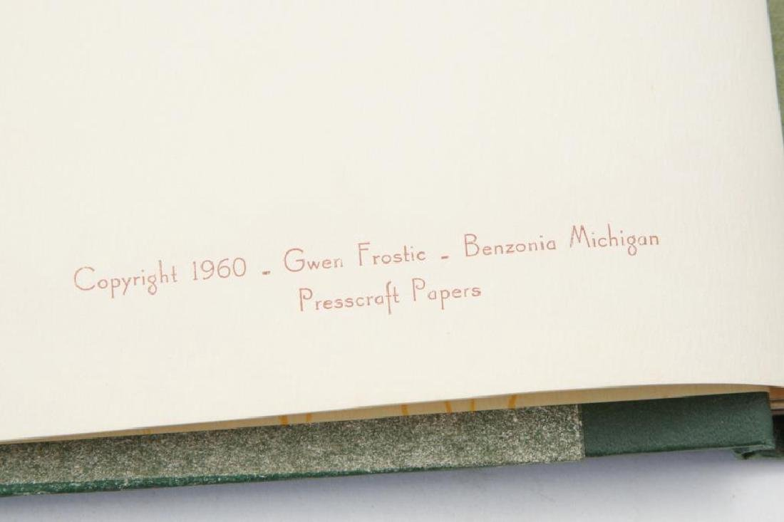 (4) BEAUTIFULLY PRODUCED GWEN FROSTIC BOOKS - 10