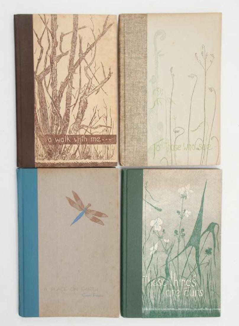 (4) BEAUTIFULLY PRODUCED GWEN FROSTIC BOOKS