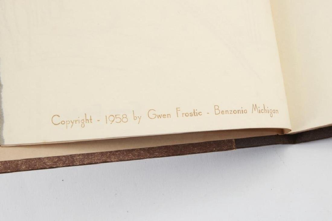 (4) BEAUTIFULLY PRODUCED GWEN FROSTIC BOOKS - 8
