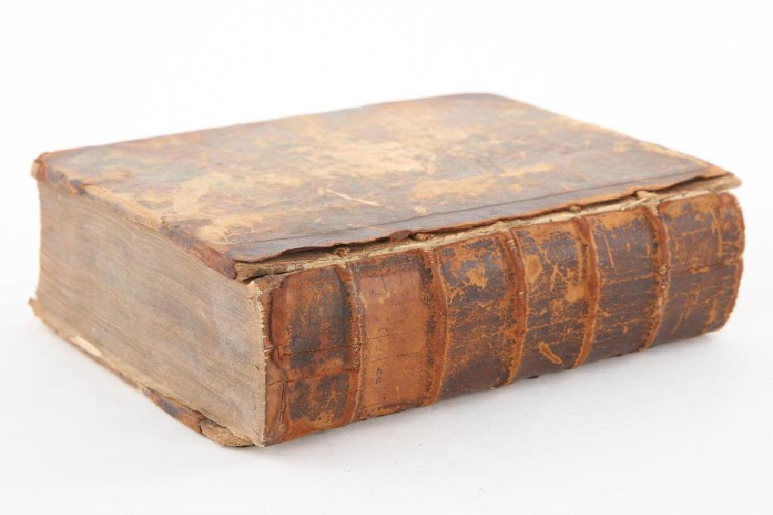 (16th /17th c) LEATHER BOUND COURT RECORDS