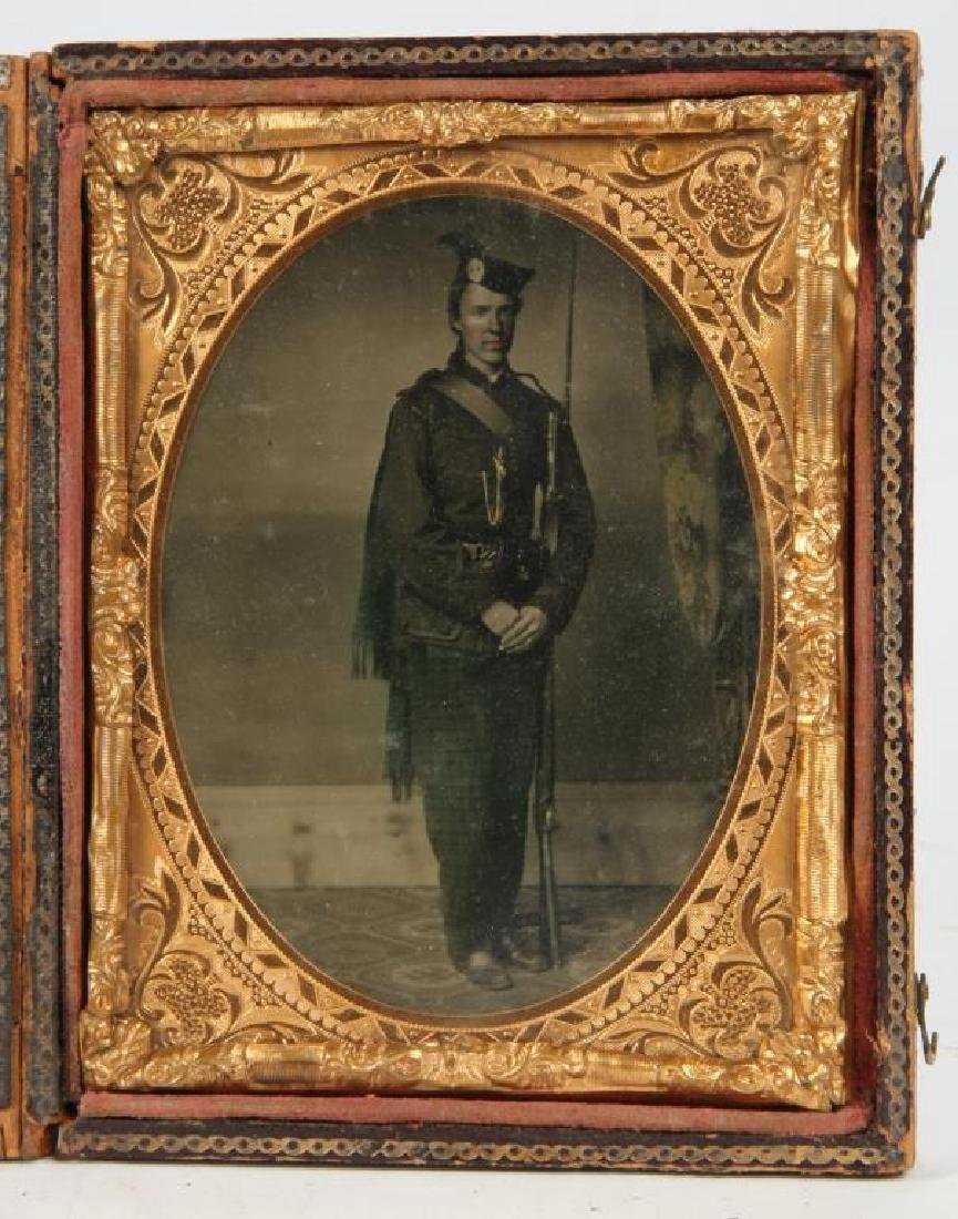 AMBROTYPE of RICHARD ROOME SCOTCH REGIMENT - 4