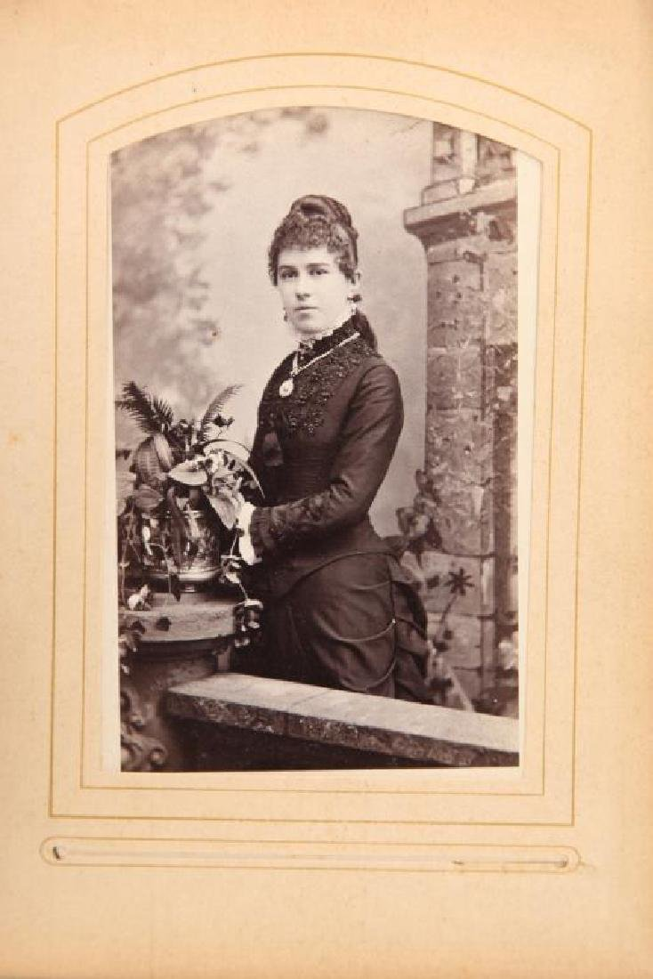 CDV AND CABINET CARD ALBUMS - 2