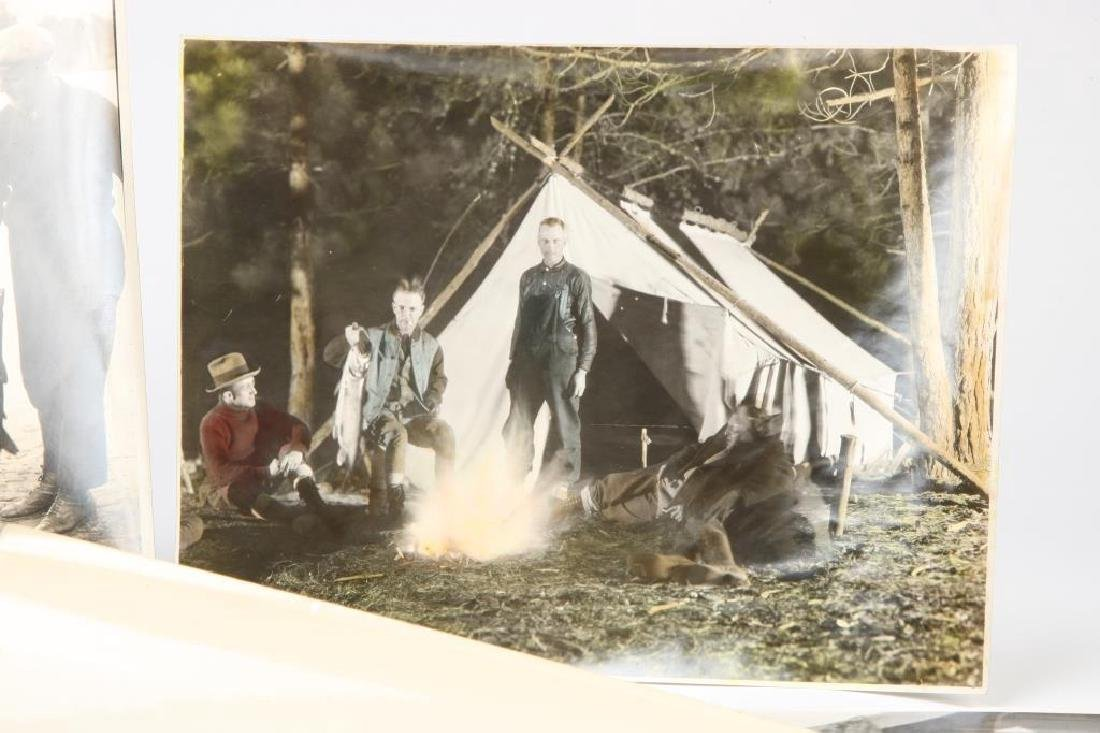 (10) EARLY (20th c) HUNTING / FISHING PHOTOGRAPHS - 4