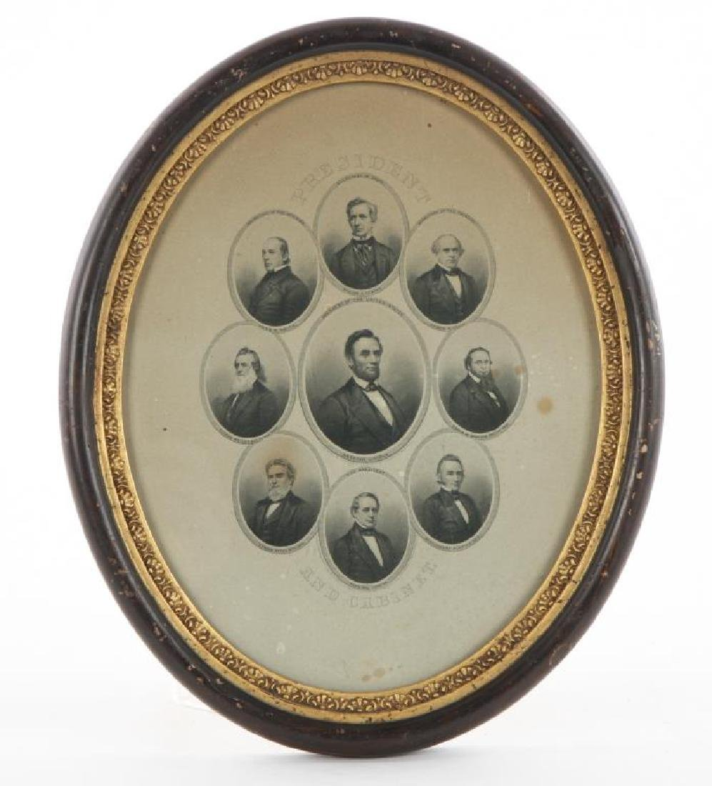 PRESIDENT LINCOLN and his CABINET 1862