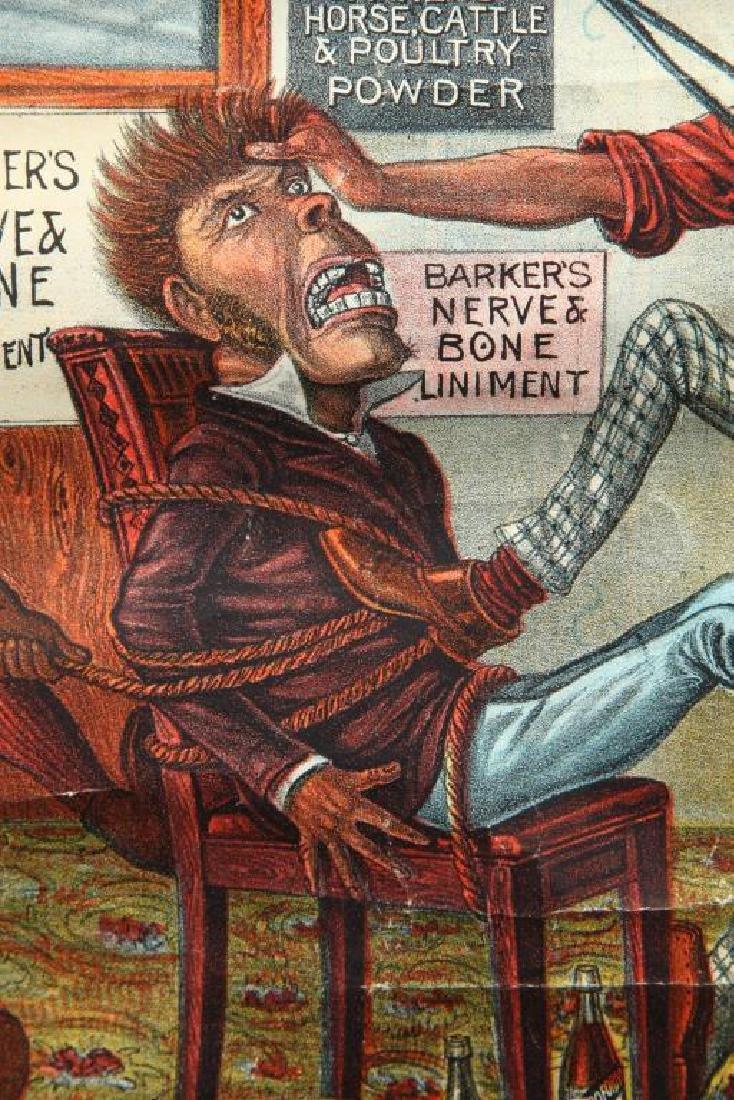(2) BARKER'S POWDER KOMIC PICTURE SOUVENIERS - 2