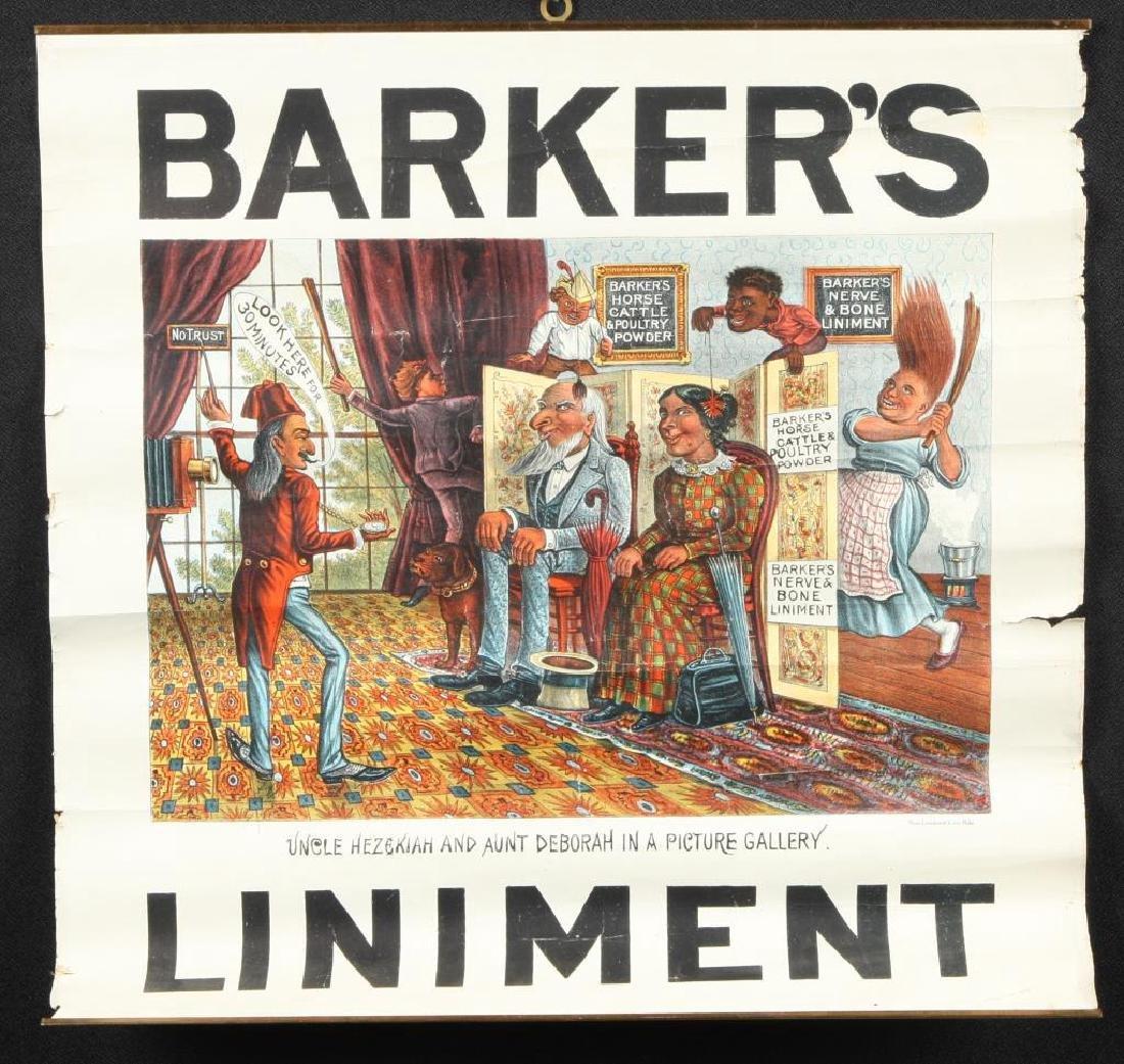 (2) BARKER'S POWDER KOMIC PICTURE SOUVENIERS - 4