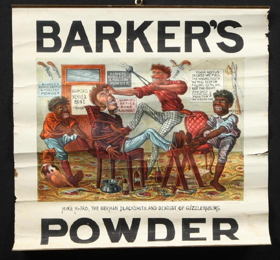 (2) BARKER'S POWDER KOMIC PICTURE SOUVENIERS - 5