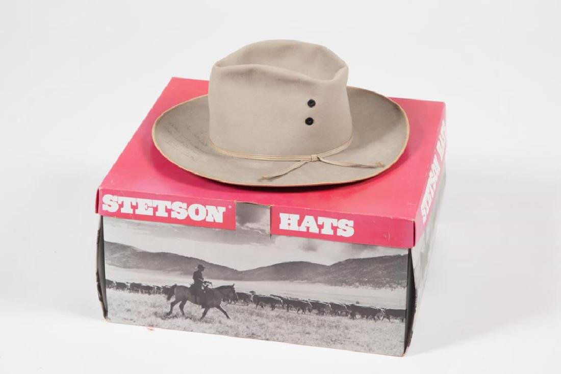 STETSON HAT SIGNED BY GENE AUTRY