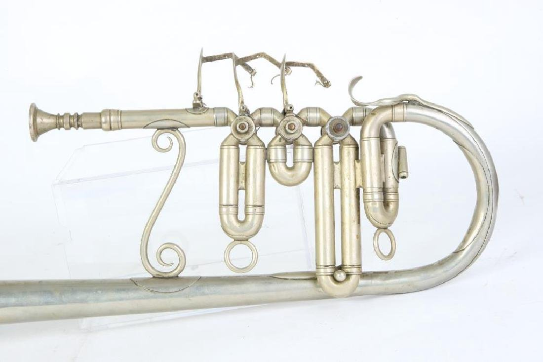CIVIL WAR OVER THE SHOULDER ROTARY VALVE TRUMPET - 5