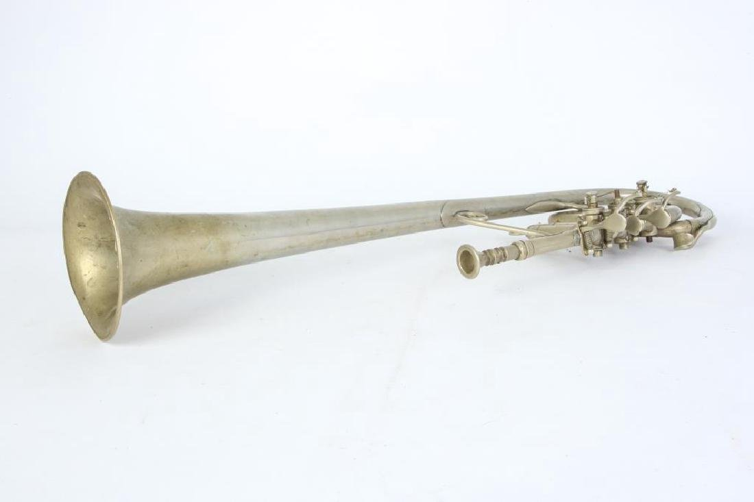 CIVIL WAR OVER THE SHOULDER ROTARY VALVE TRUMPET - 6