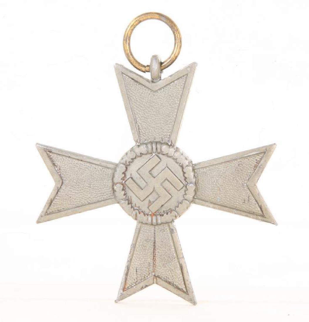 NAZI WAR MERIT CROSS MALTESE SWASTIKA 1939