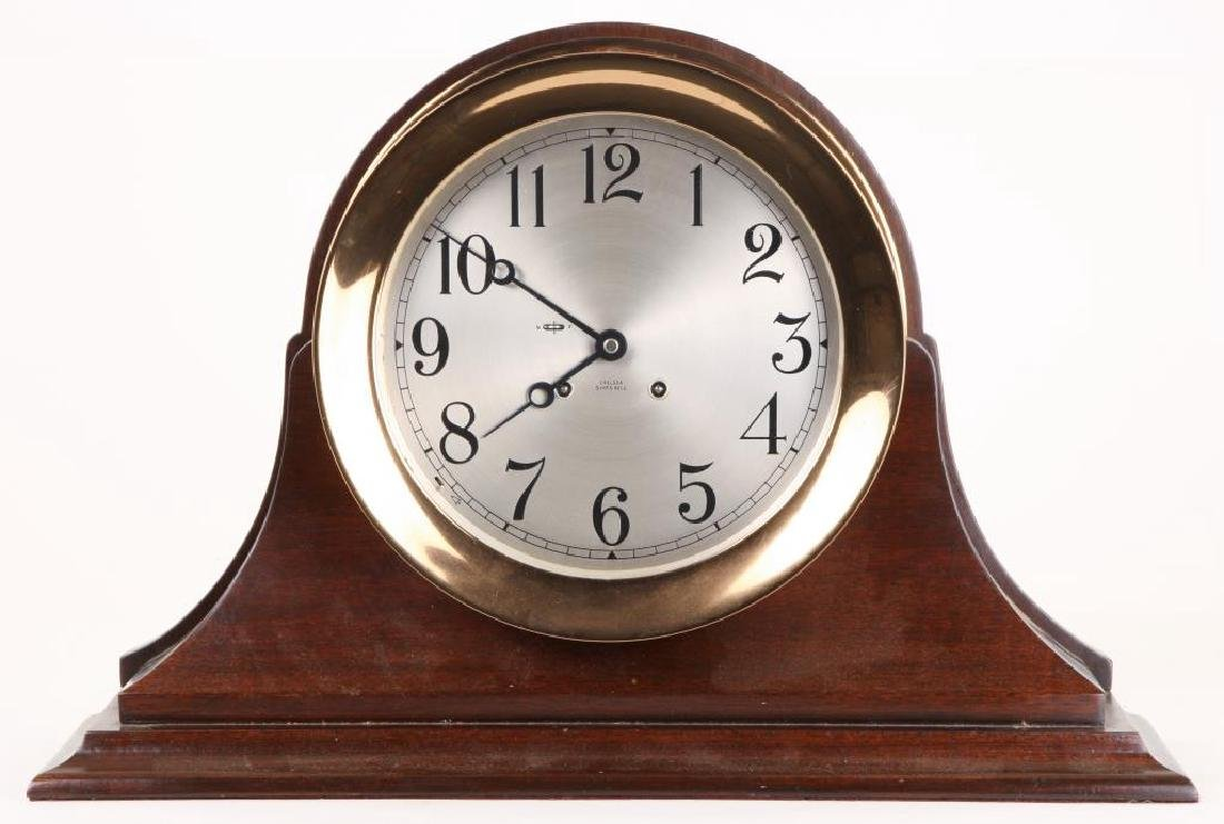 CHELSEA SHIP'S BELL 10 inch CLOCK