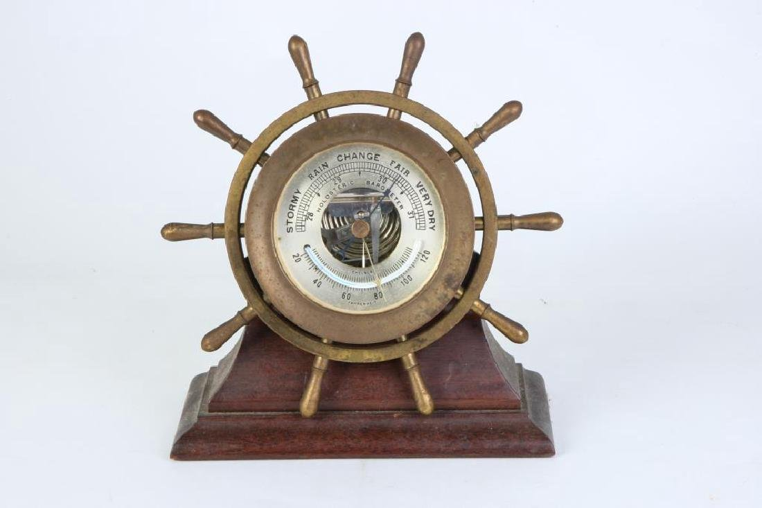 CHELSEA HOLOSTERIC BAROMETER & THERMOMETER