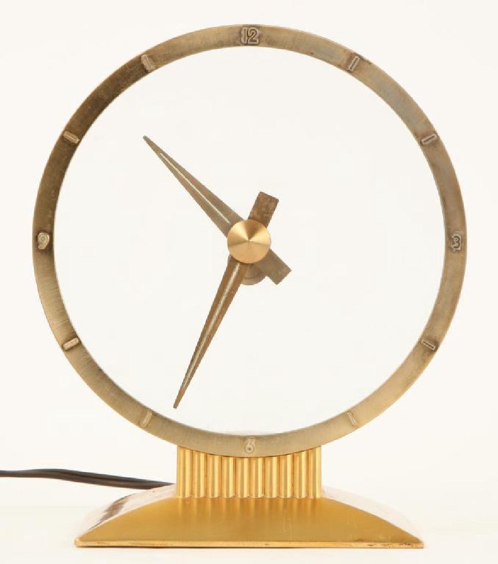 MID CENTURY JEFFERSON GOLDEN HOUR ELECTRIC CLOCK