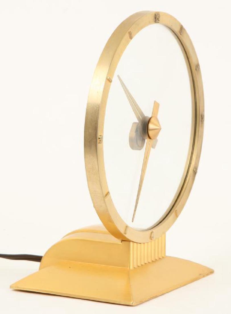 MID CENTURY JEFFERSON GOLDEN HOUR ELECTRIC CLOCK - 2
