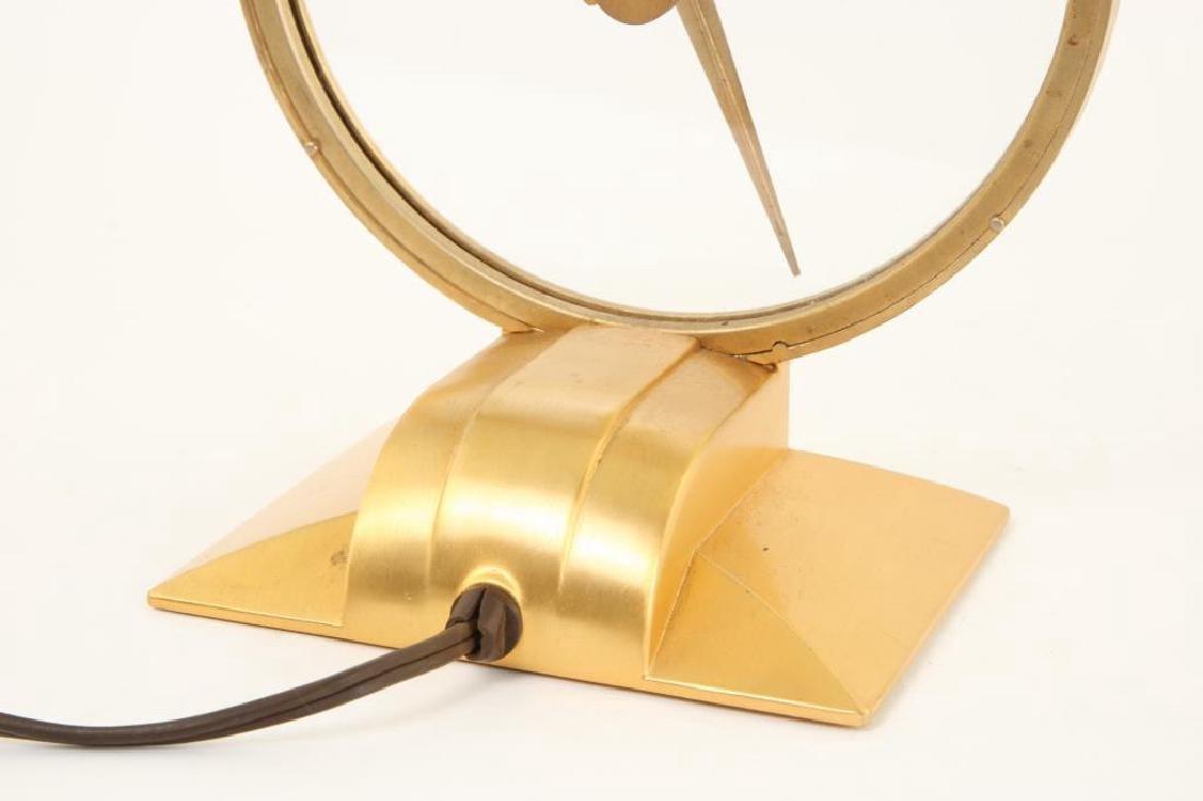 MID CENTURY JEFFERSON GOLDEN HOUR ELECTRIC CLOCK - 4