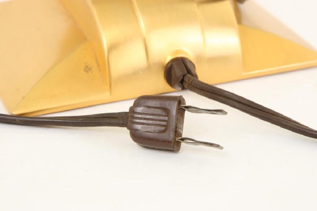 MID CENTURY JEFFERSON GOLDEN HOUR ELECTRIC CLOCK - 6