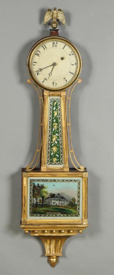 (19th c) BANJO CLOCK