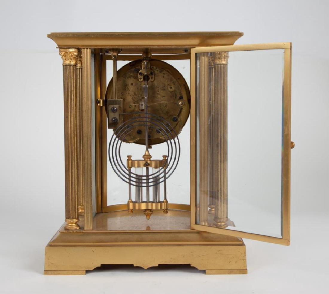 SETH THOMAS CRYSTAL REGULATOR SHELF CLOCK - 4