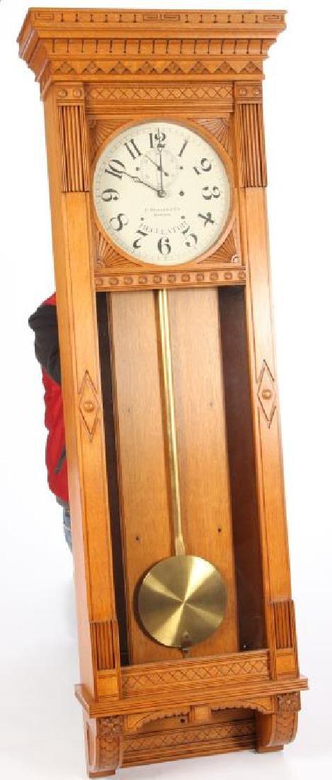 E. HOWARD REGULATOR WALL CLOCK