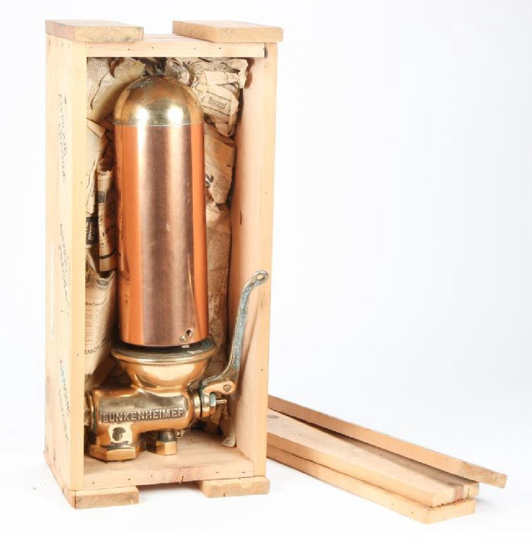LUNKENHEIMER BRASS AND COPPER STEAM WHISTLE