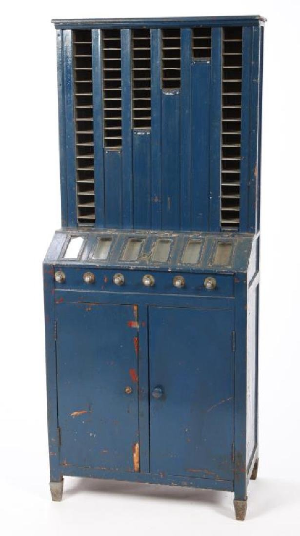 EARLY 1920'S CIGARETTE VENDING MACHINE - 5
