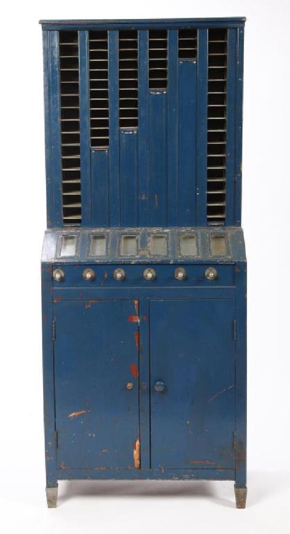 EARLY 1920'S CIGARETTE VENDING MACHINE - 7