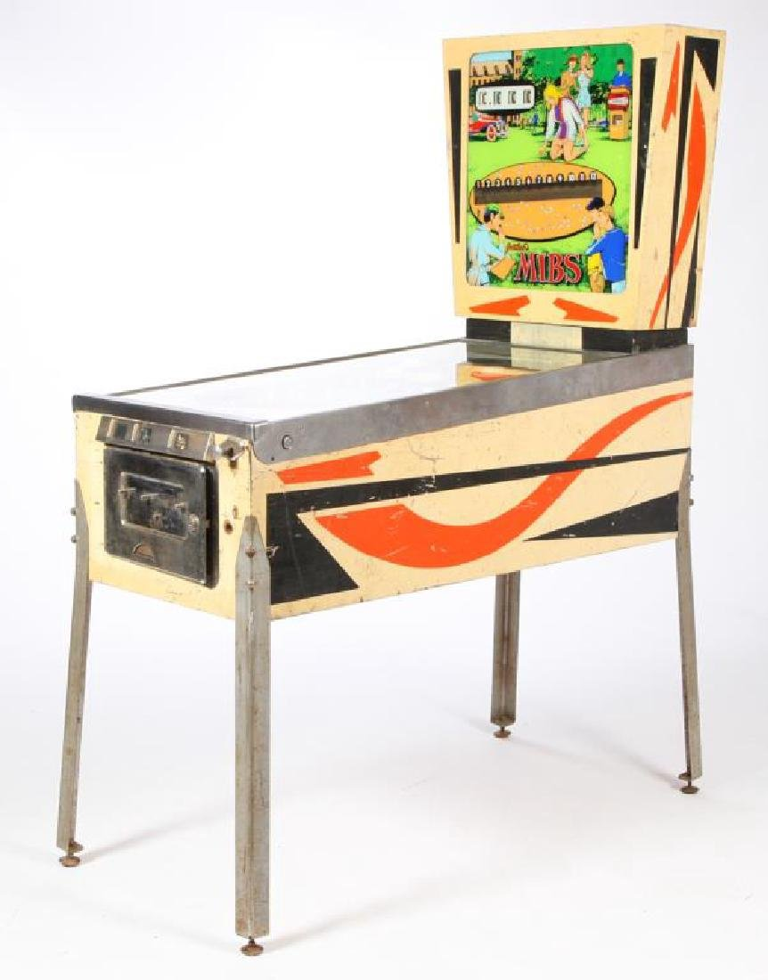 "1969 GOTTLIEB'S ""MIBS"" PINBALL MACHINE"