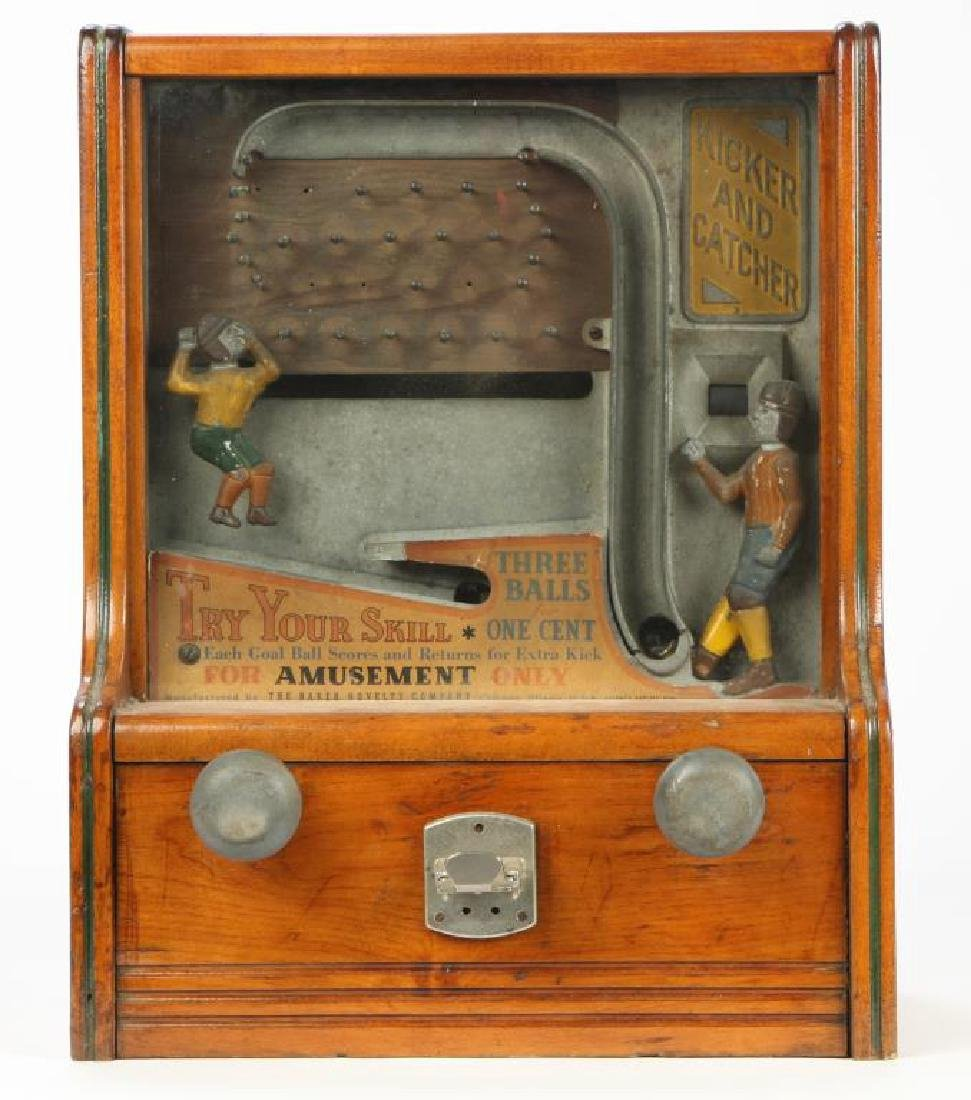 BAKER NOVELTY CO. FOOTBALL KICKER & CATCHER ARCADE - 4