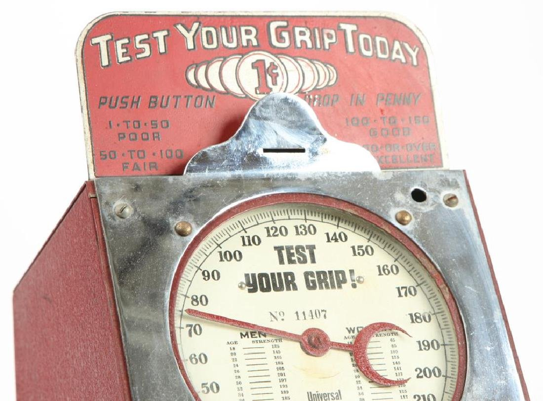 """HOLLY MANUFACTURING """" TEST YOUR GRIP TODAY"""" - 4"""