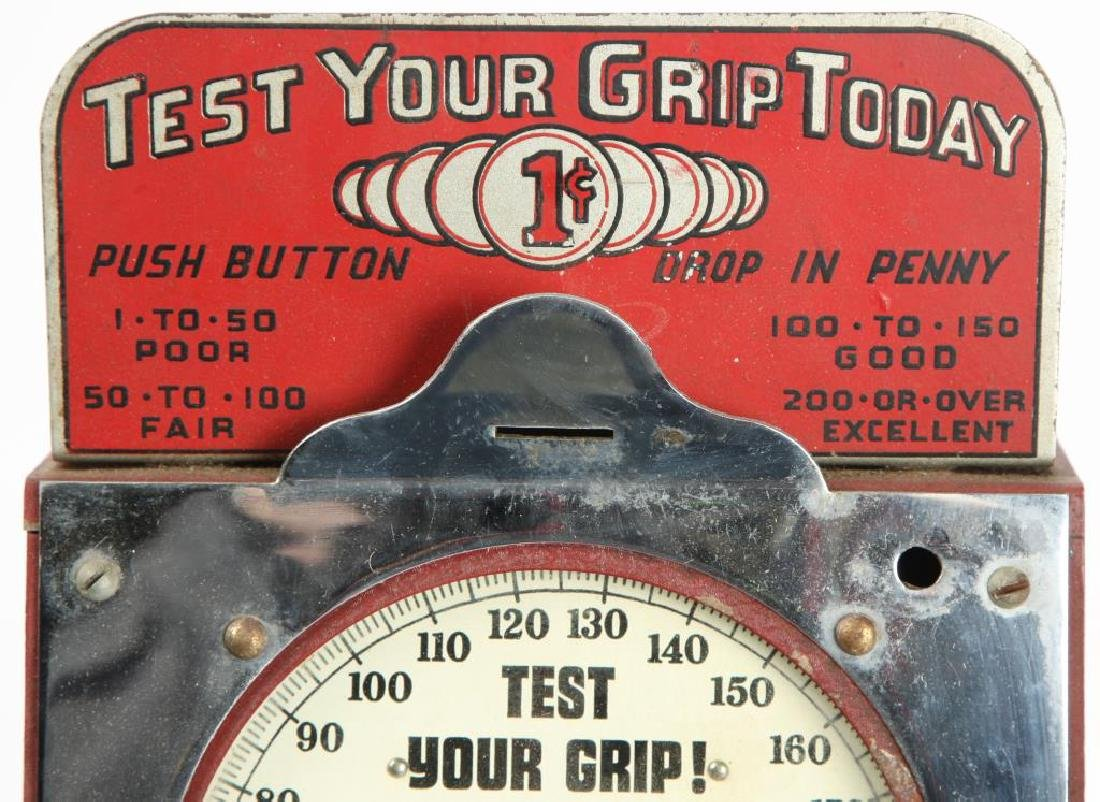 """HOLLY MANUFACTURING """" TEST YOUR GRIP TODAY"""" - 5"""