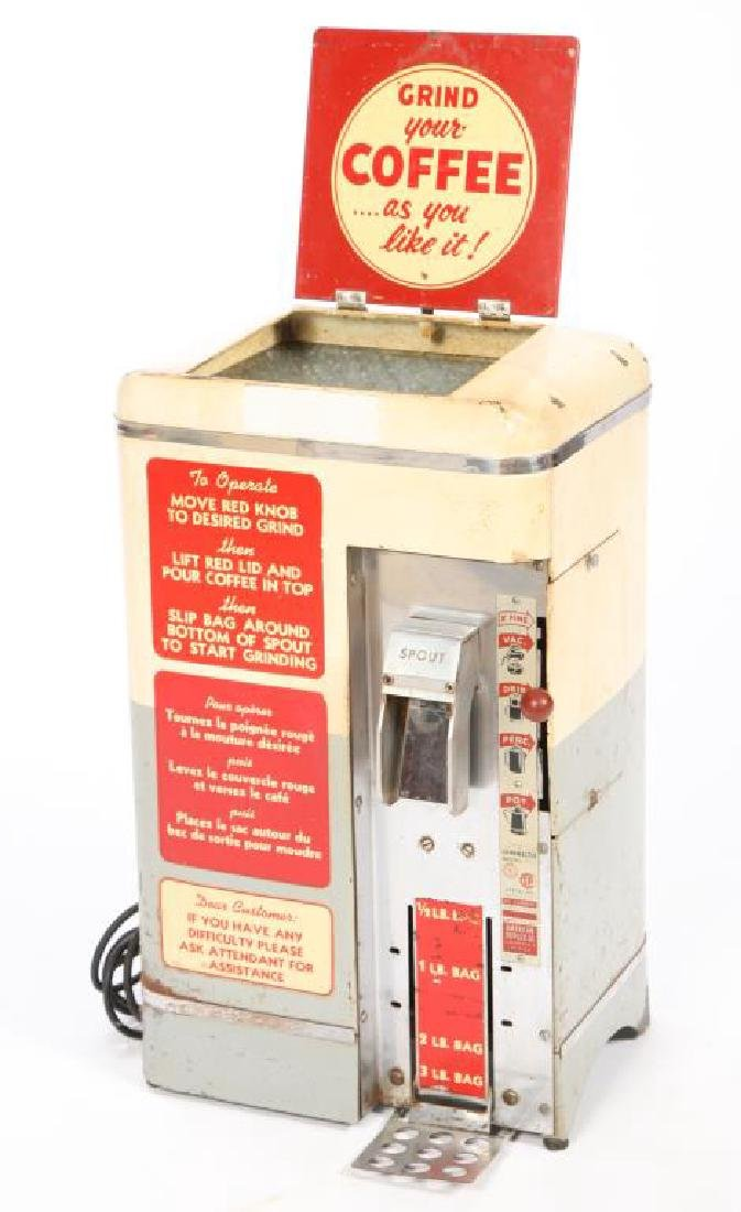 AMERICAN DUPLEX CO. GRINDMASTER COFFEE GRINDER