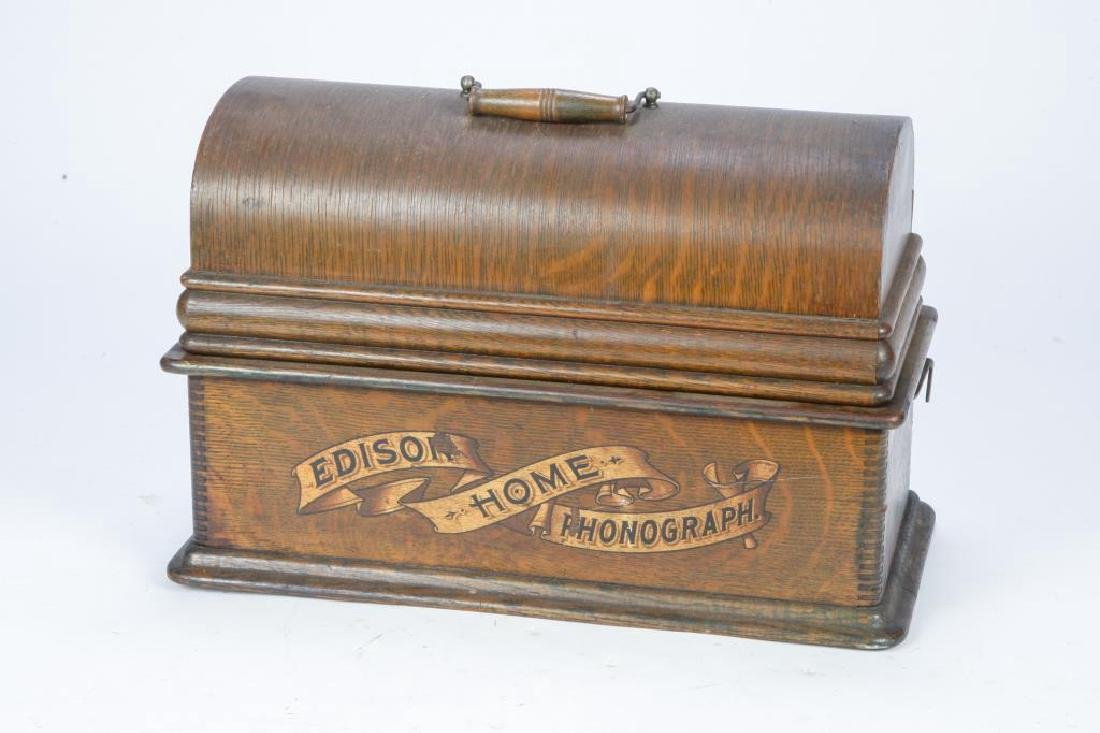 1903 EDISON HOME CYLINDER PHONOGRAPH