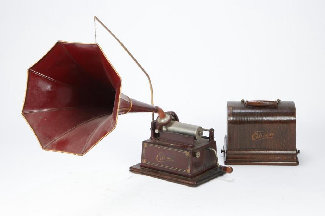 """1905 EDISON """"GEM"""" CYLINDER PHONOGRAPH"""