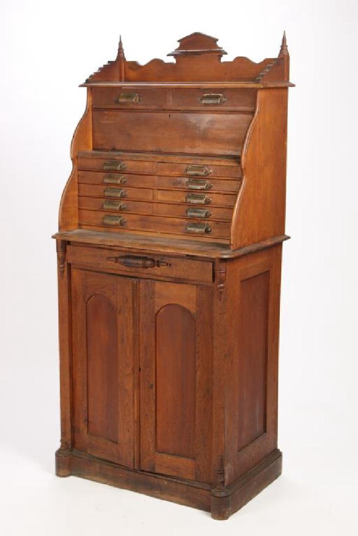 EARLY VICTORIAN (11) DRAWER DENTAL CABINET