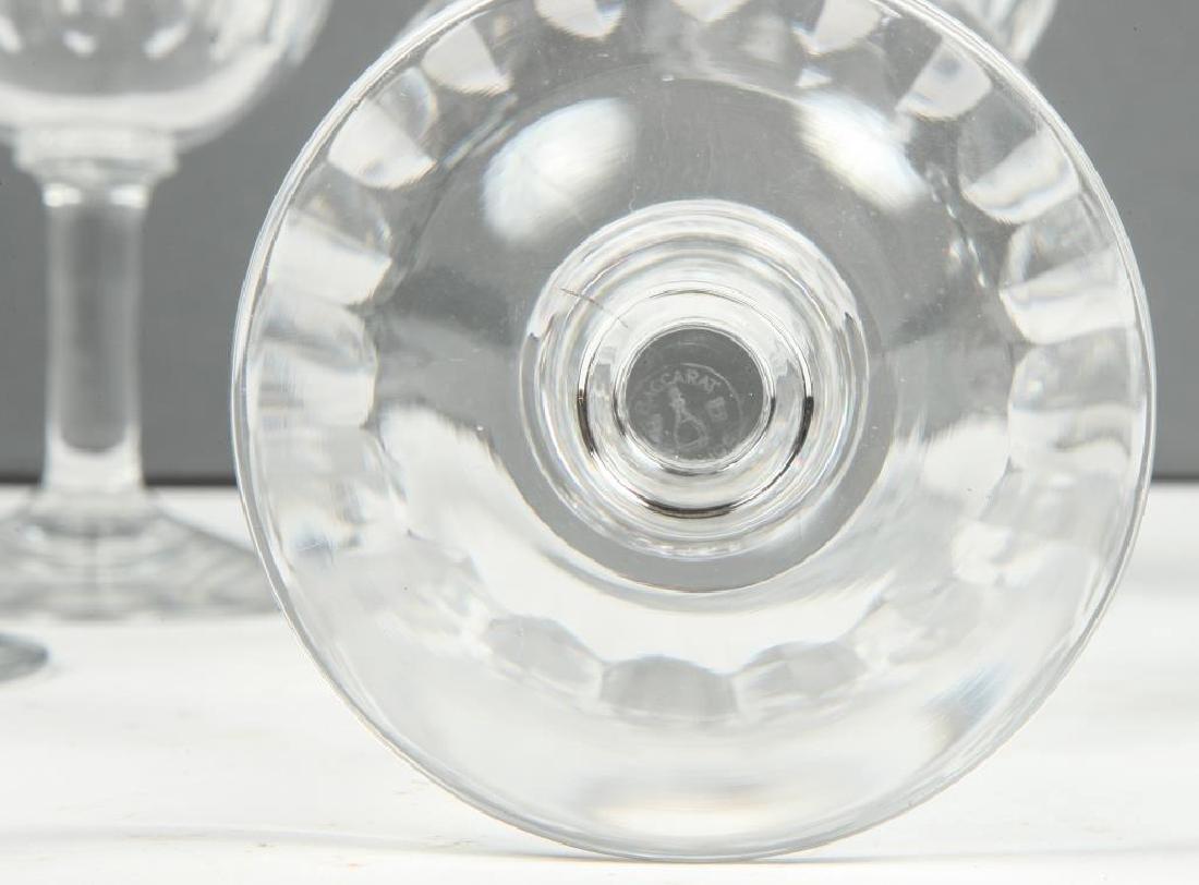 (9) BACCARAT CRYSTAL WINE GLASSES - 2