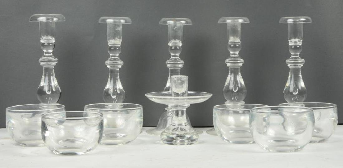 (12) PIECES OF STEUBEN CRYSTAL