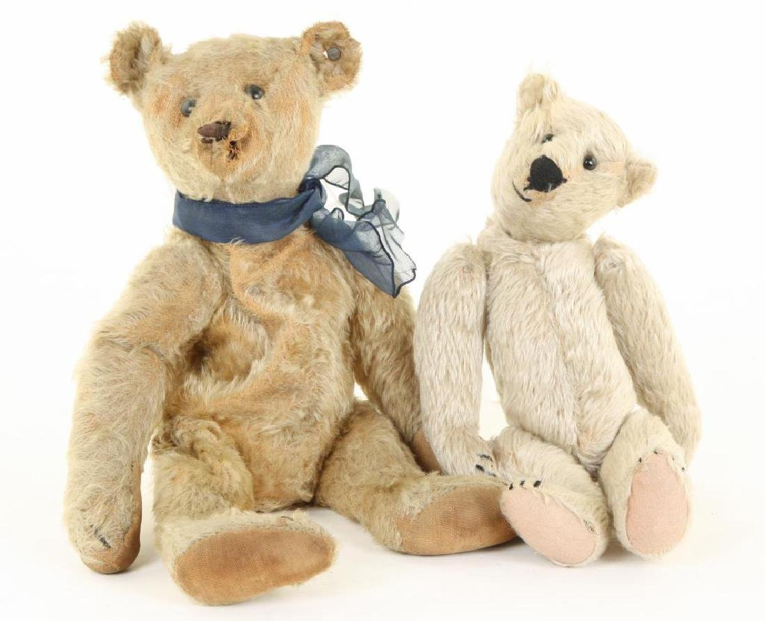 (2) EARLY STEIFF TEDDY BEARS