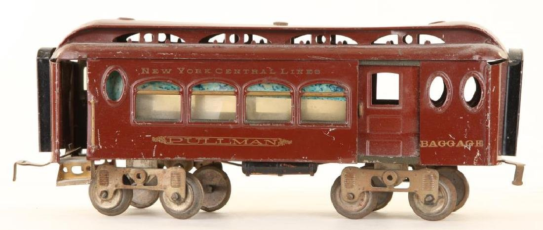 (2) LIONEL MFG CO. PULLMANS & (1) OBSERVATION CAR - 8