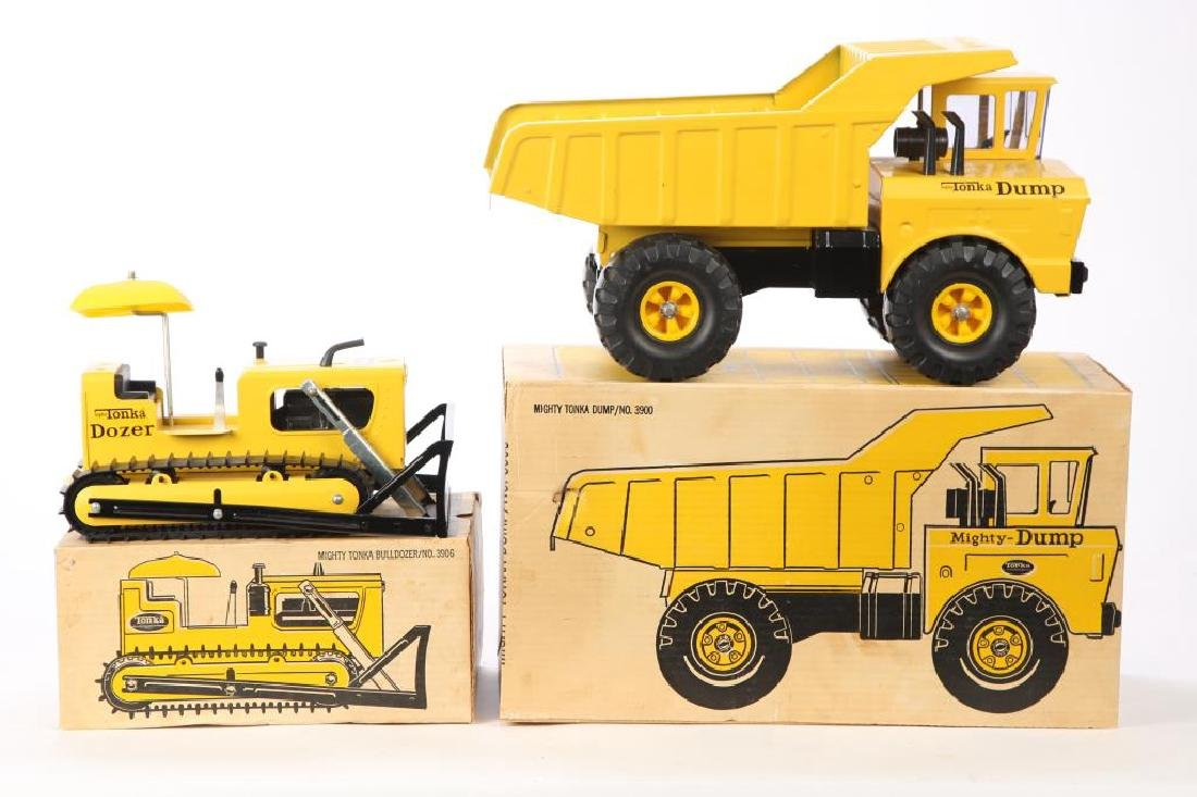 (2) NEW OLD STOCK 1960s TONKA TRUCKS