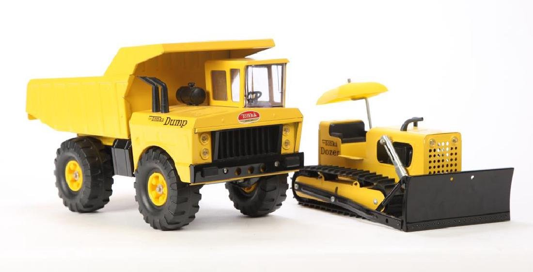 (2) NEW OLD STOCK 1960s TONKA TRUCKS - 6