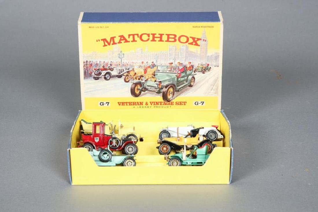 MATCHBOX G-7 VETERAN & VINTAGE SET