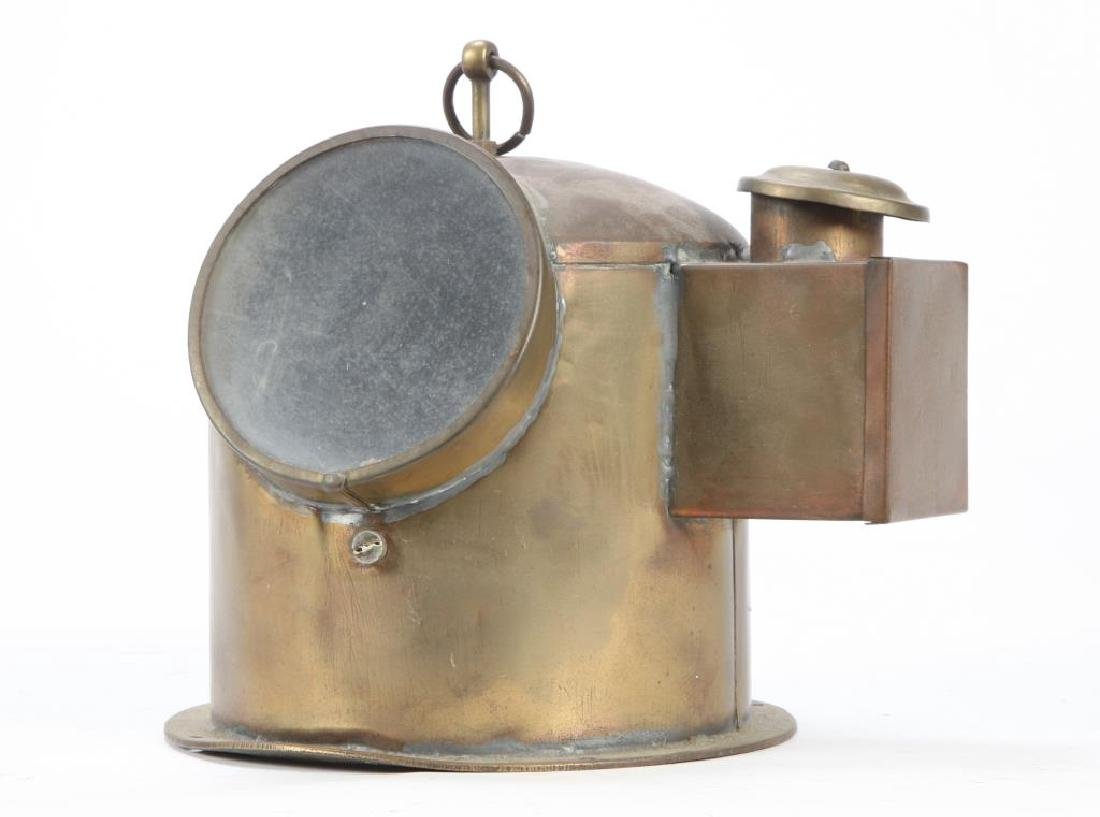 BRASS YACHT BINNACLE