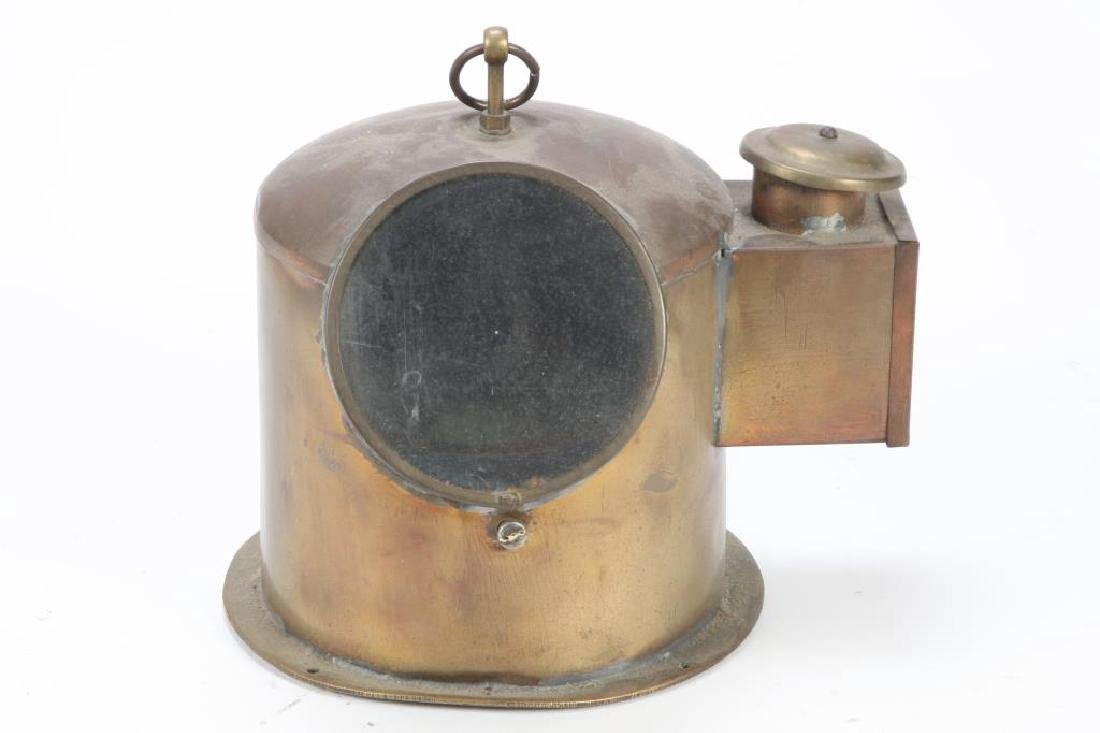 BRASS YACHT BINNACLE - 3